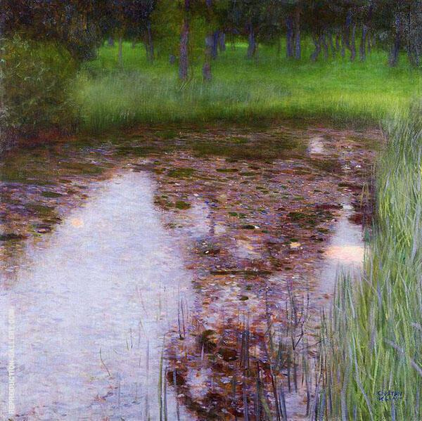 The Swamp 1900 By Gustav Klimt