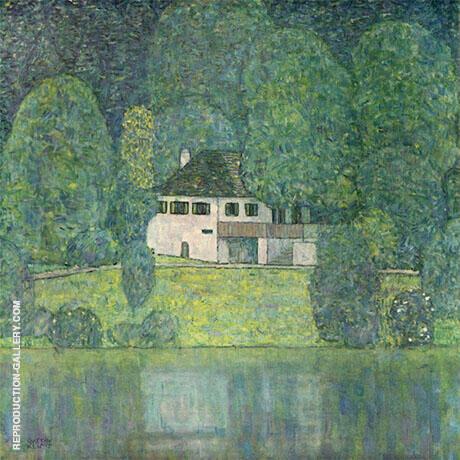 The Litzlbergkeller on the Attersee 1915 By Gustav Klimt