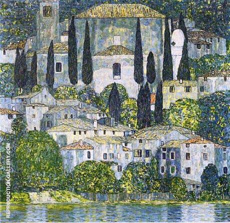 The Church in Cassone By Gustav Klimt