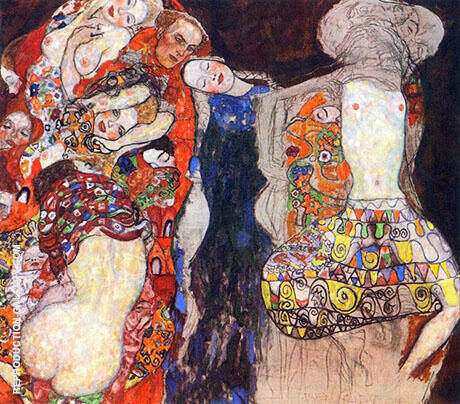 The Bride c 1917 By Gustav Klimt