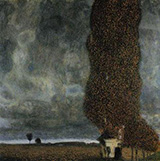 Tall Poplars II Approaching Thunderstorm 1902 By Gustav Klimt
