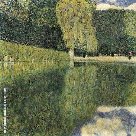 Schonbrunn Park 1916 By Gustav Klimt - Oil Paintings & Art Reproductions - Reproduction Gallery