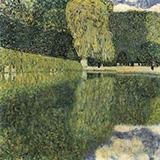 Schonbrunn Park 1916 By Gustav Klimt