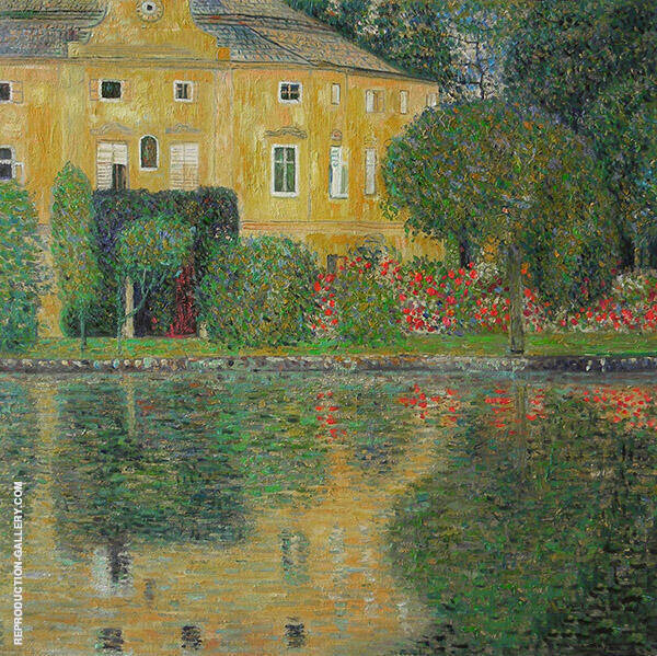 Schloss Kammer on the Attersee IV 1910 Painting By Gustav Klimt