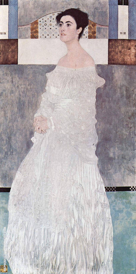 Portrait of Margaret Stonborough Wittgenstein 1905 By Gustav Klimt