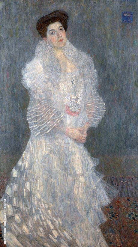 Portrait of Hermine Gallia c1903 By Gustav Klimt
