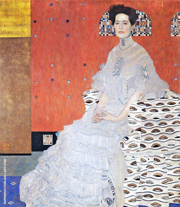 Portrait of Fritza Riadler 1906 By Gustav Klimt