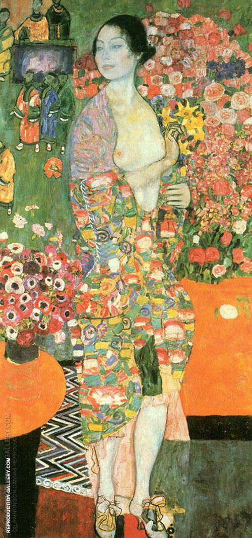 The Dancer Leda 1918 By Gustav Klimt