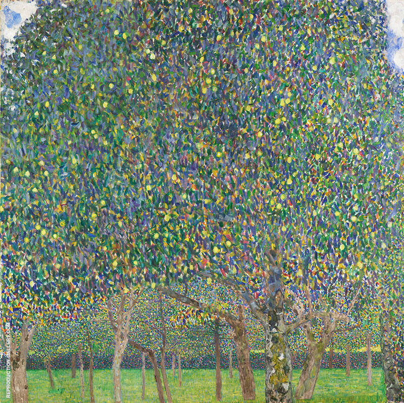 Pear Tree 1903 By Gustav Klimt