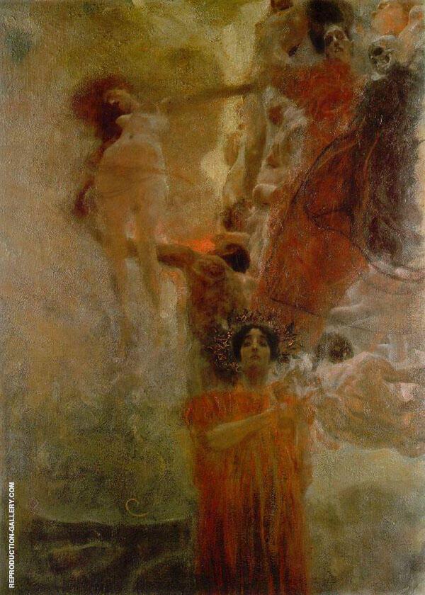 Medicine 1897 By Gustav Klimt