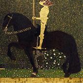 Life is a Struggle the Golden Knight 1903 By Gustav Klimt