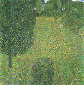 Landscape Garden Meadow in Flower 1906 By Gustav Klimt