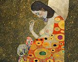 Hope II Detail 1907 By Gustav Klimt
