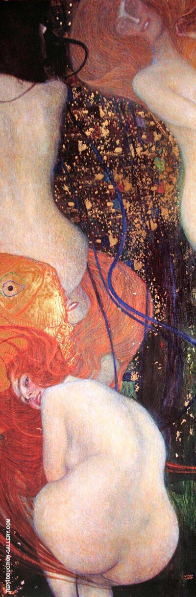 Gold Fish 1901 By Gustav Klimt