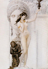 Allegory of Sculpture 1889 By Gustav Klimt