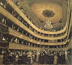 Auditorium of the Old Burgtheater 1888 By Gustav Klimt
