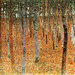 Beech Forest I 1902 By Gustav Klimt