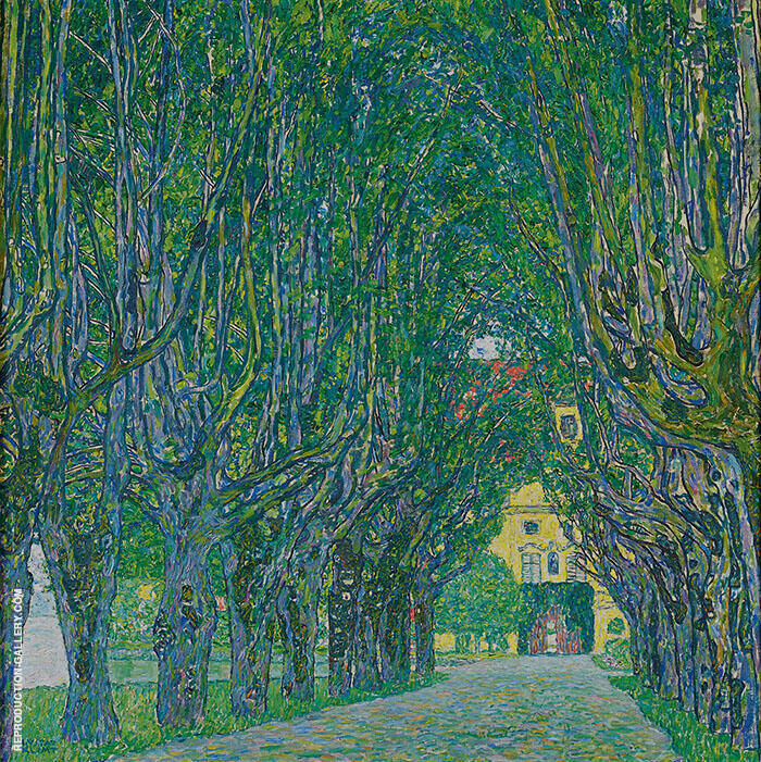 Avenue in Schloss Kammer Park 1912 By Gustav Klimt
