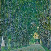 Avenue in Schloss Kammer Park 1912 By Gustav Klimt