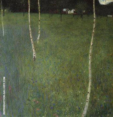 Attersee I 1900 By Gustav Klimt - Oil Paintings & Art Reproductions - Reproduction Gallery