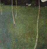 Attersee I 1900 By Gustav Klimt