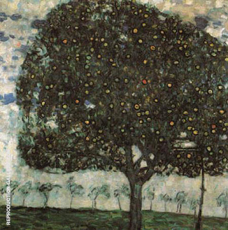 Apple Tree II 1916 By Gustav Klimt