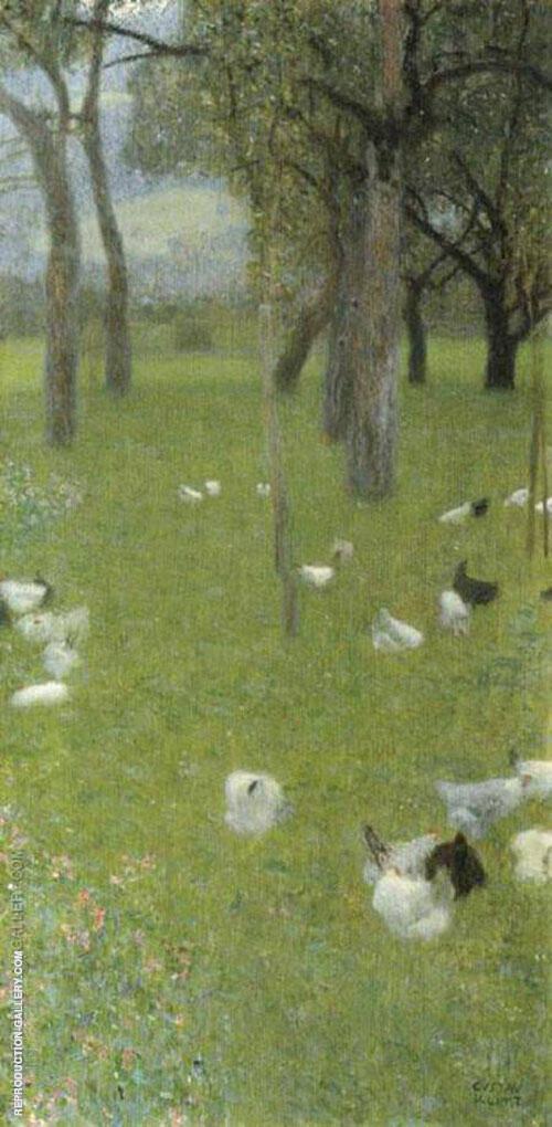 After the Rain 1898 By Gustav Klimt