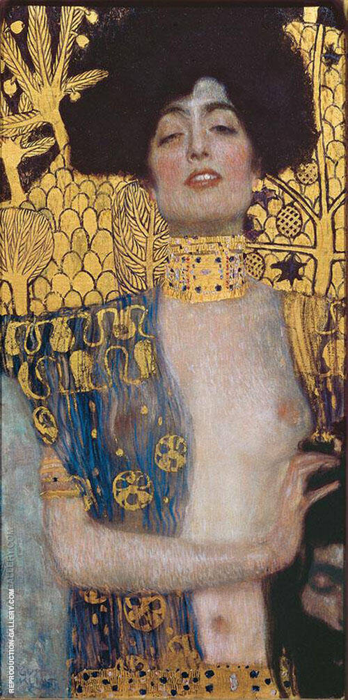 Judith II 1901 Painting By Gustav Klimt - Reproduction Gallery