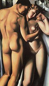 Adam and Eve 1932 By Tamara de Lempicka