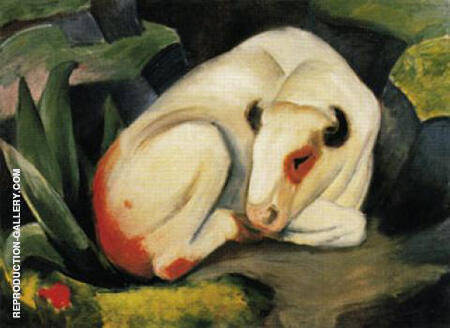 The Bull 1911 By Franz Marc