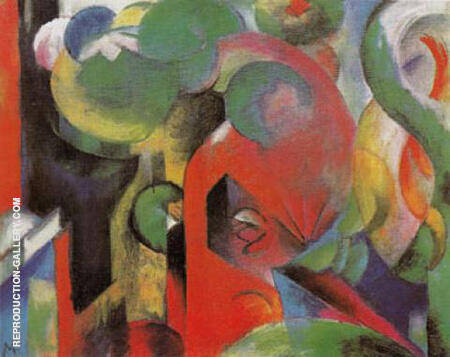 Small Composition III 1913 By Franz Marc