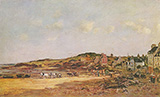 The Port of Portrieux 1874 By Eugene Boudin