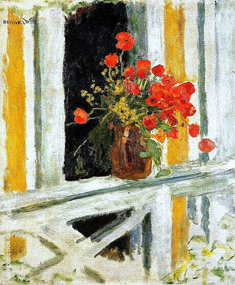 The Poppies 1912 By Pierre Bonnard