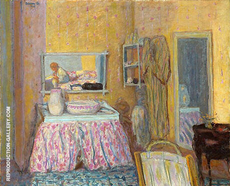 The Dressing Room 1914 Painting By Pierre Bonnard - Reproduction Gallery