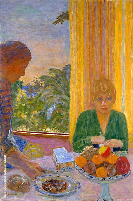 The Green Blouse 1919 By Pierre Bonnard