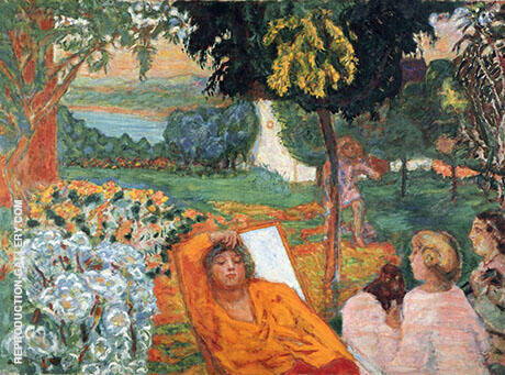 Siesta 1914 By Pierre Bonnard