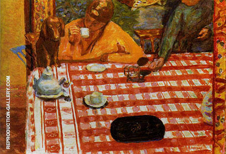 Coffee 1915 By Pierre Bonnard