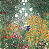 Flower Garden 1907 By Gustav Klimt