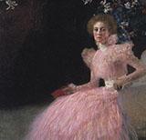 Portrait of Sonja Knips 1889 By Gustav Klimt