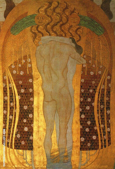 Hymn to Joy 1902 By Gustav Klimt - Oil Paintings & Art Reproductions - Reproduction Gallery