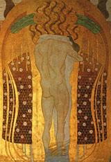 Hymn to Joy 1902 By Gustav Klimt
