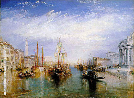 The Grand Canal Venice 1835 By Joseph Mallord William Turner - Oil Paintings & Art Reproductions - Reproduction Gallery