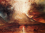 Mount Vesuvius in Eruption 1817 By Joseph Mallord William Turner