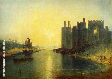 Caernarvon Castle By Joseph Mallord William Turner
