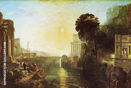Carthaginian Empire By Joseph Mallord William Turner
