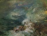 Fire at Sea By Joseph Mallord William Turner