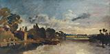 The Thames near Walton Bridges By Joseph Mallord William Turner