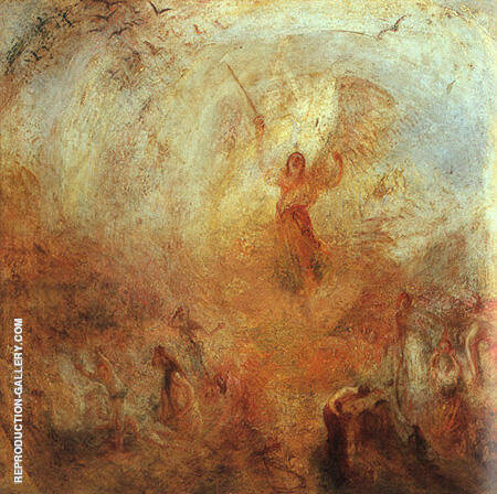 The Angel Standing in the Sun 1846 By Joseph Mallord William Turner