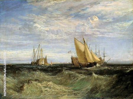 Reproduction of A Windy Day by Joseph Mallord William Turner | Oil Painting Replica On CanvasReproduction Gallery