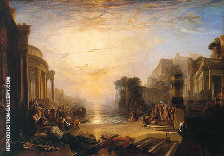 The Decline of the Carthaginian Empire By Joseph Mallord William Turner